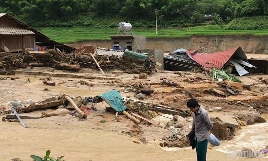 Thanh Hóa: Bản Sa Ná tan hoang sau mưa lũ kinh hoàng - Ảnh 3
