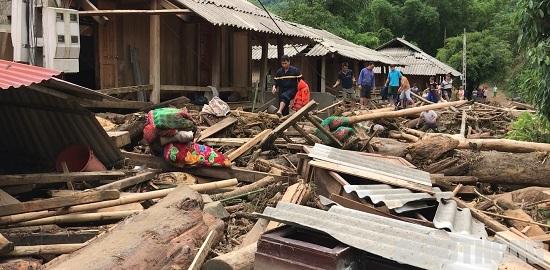 Thanh Hóa: Bản Sa Ná tan hoang sau mưa lũ kinh hoàng - Ảnh 5