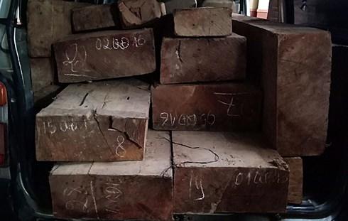 Hơn 1 tiếng đồng hồ truy đuổi nghẹt thở xe chở gỗ lậu của CSGT Quảng Nam - Ảnh 1