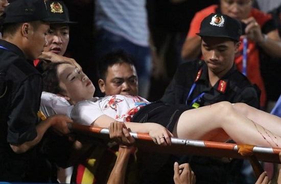Tin tức thời sự mới nóng nhất hôm nay 13/9/2019: Truy tìm người bắn pháo sáng trên sân Hàng Đẫy - Ảnh 1