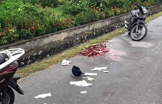 Quảng Ninh: Đang đi xe máy trên cầu Bãi Cháy, một phụ nữ bất ngờ bị kẻ lạ mặt đâm trọng thương - Ảnh 1
