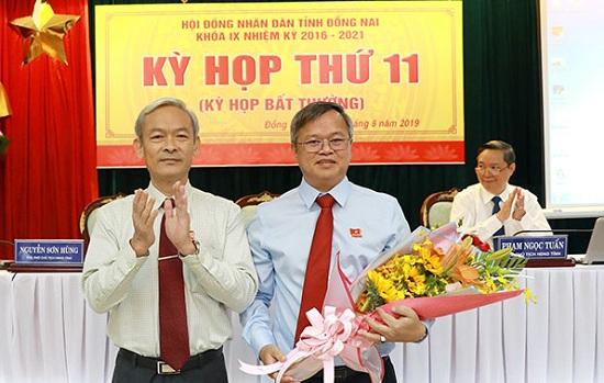 Đồng Nai: Trao quyết định chuẩn y ông Cao Tiến Dũng giữ chức Phó Bí thư Tỉnh ủy - Ảnh 1
