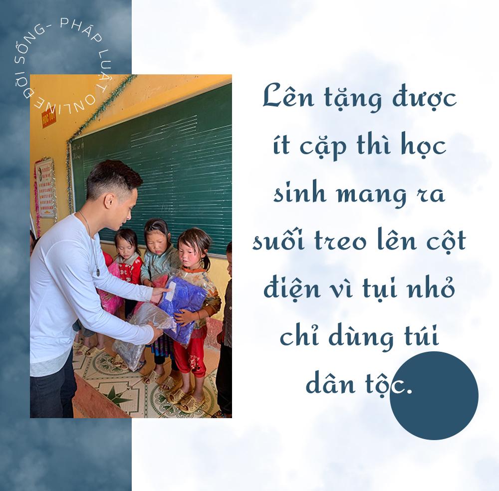 [E] Người thầy dành dụm từng đồng để nối dài những chuyến từ thiện - Ảnh 8