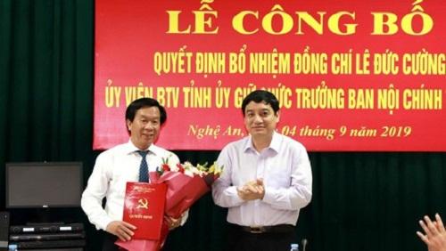 Nghệ An: Trao quyết định bổ nhiệm một số chức danh chủ chốt - Ảnh 1
