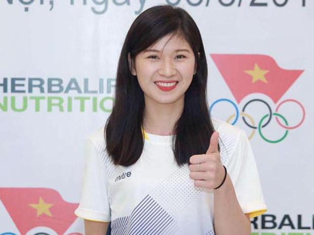 """Nhan sắc những """"bóng hồng"""" xinh đẹp không kém hotgirl của làng thể thao Việt Nam - Ảnh 7"""