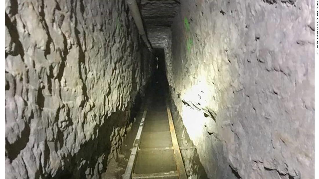Cận cảnh đường hầm vận chuyển ma túy dài nhất ở biên giới Mỹ- Mexico mới được phát hiện - Ảnh 3