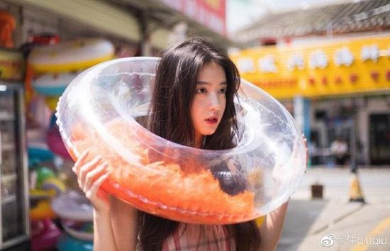 """""""Nữ thần bóng rổ"""" Trung Quốc gây sốt mạng xã hội: Mặt đã xinh, chơi bóng còn cực đỉnh - Ảnh 5"""