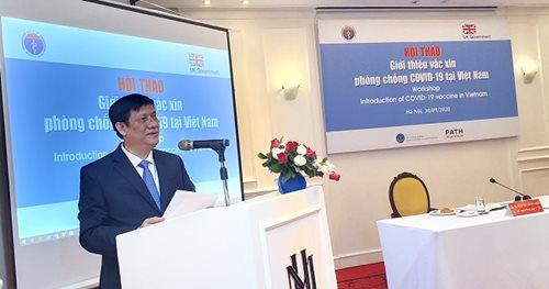 Hội thảo giới thiệu vắc xin phòng chống COVID-19 tại Việt Nam - Ảnh 1