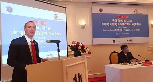 Hội thảo giới thiệu vắc xin phòng chống COVID-19 tại Việt Nam - Ảnh 2