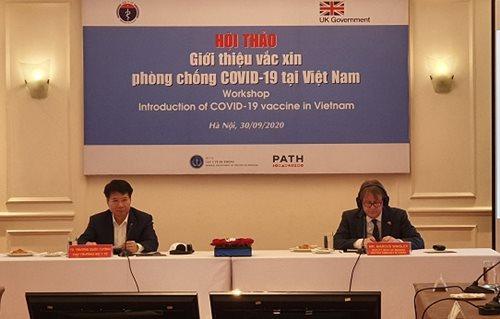 Hội thảo giới thiệu vắc xin phòng chống COVID-19 tại Việt Nam - Ảnh 3