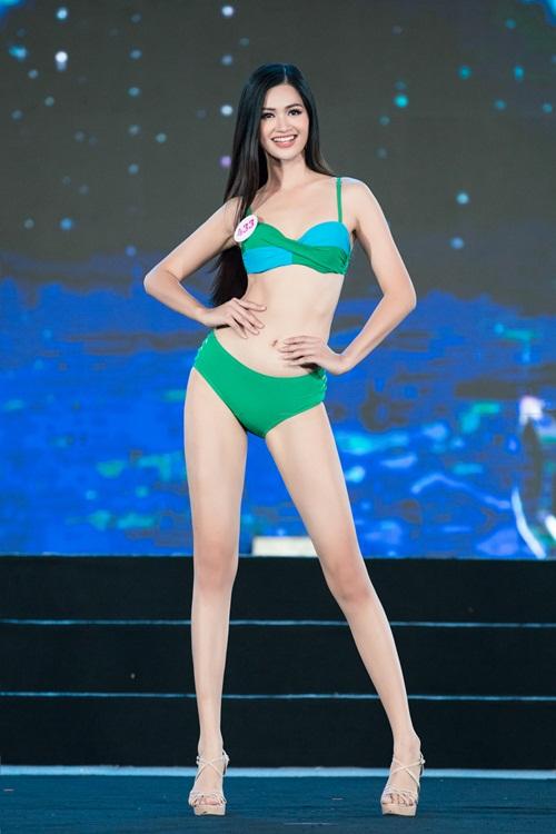 """""""Bỏng mắt"""" với phần trình diễn bikini khoe đường cong nuột nà của thí sinh Hoa Hậu Việt Nam 2020 - Ảnh 5"""