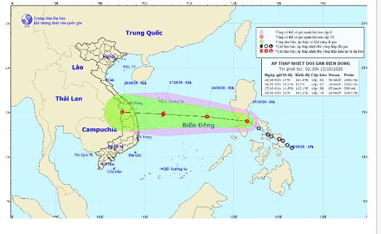 Áp thấp nhiệt đới vào biển Đông, có khả năng mạnh thành bão cấp 10 - Ảnh 1