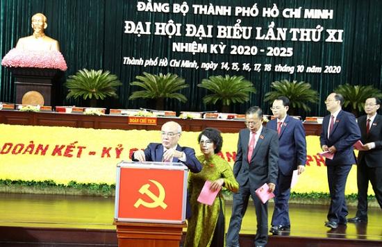 Danh sách 61 Ủy viên Ban Chấp hành Đảng bộ TP.HCM nhiệm kỳ 2020 -2025 - Ảnh 1