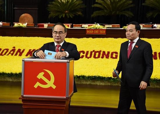 Đại hội Đảng bộ TP.HCM bầu Ban Chấp hành khóa mới gồm 61 ủy viên - Ảnh 1