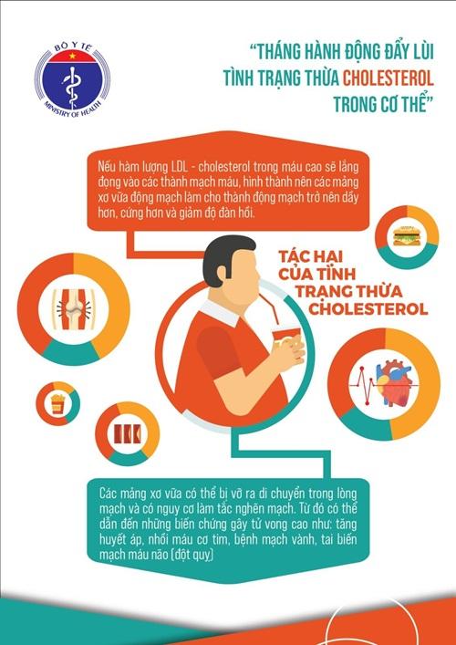 """Bộ Y tế phát động """"Tháng hành động đẩy lùi Tình trạng thừa Cholesterol trong cơ thể"""" - Ảnh 2"""