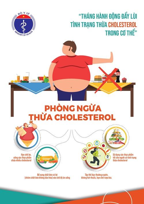 """Bộ Y tế phát động """"Tháng hành động đẩy lùi Tình trạng thừa Cholesterol trong cơ thể"""" - Ảnh 3"""