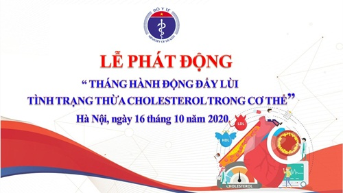 """Bộ Y tế phát động """"Tháng hành động đẩy lùi Tình trạng thừa Cholesterol trong cơ thể"""" - Ảnh 1"""
