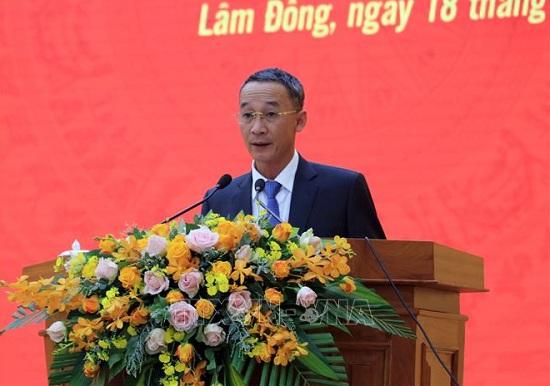 Tân Chủ tịch UBND tỉnh Lâm Đồng vừa được bổ nhiệm là ai? - Ảnh 1