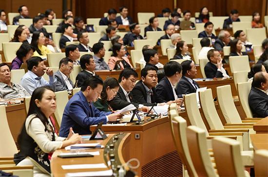 Quốc hội miễn nhiệm Thống đốc Ngân hàng Nhà nước đối với ông Lê Minh Hưng - Ảnh 1