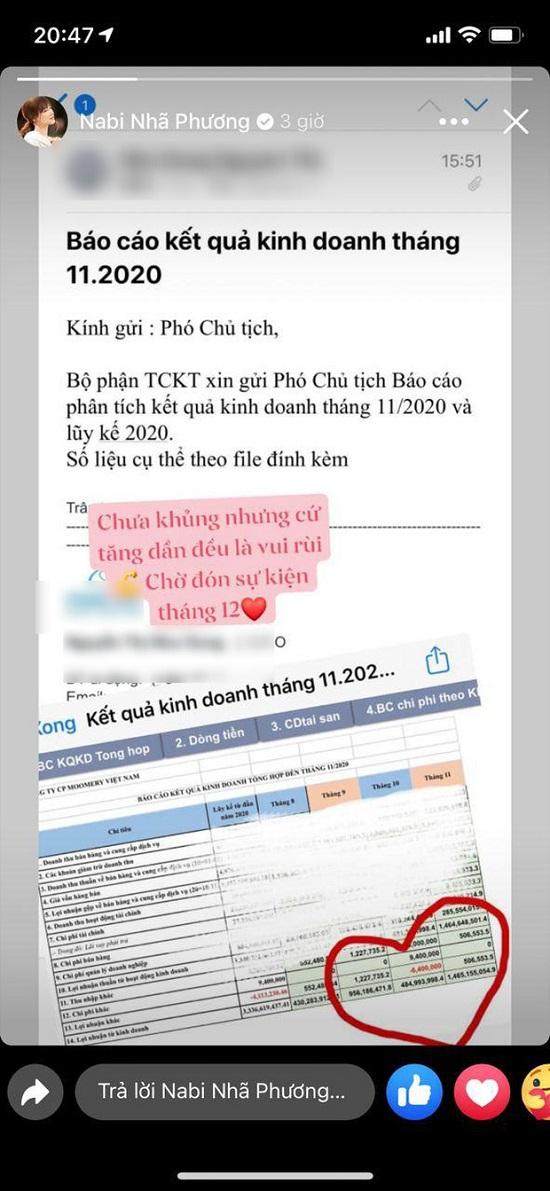"""""""Khoe khéo"""" làm Phó Chủ tịch doanh nghiệp, Nhã Phương """"lộ"""" việc cùng hệ thống với Ngọc Trinh, Hương Giang - Ảnh 1"""
