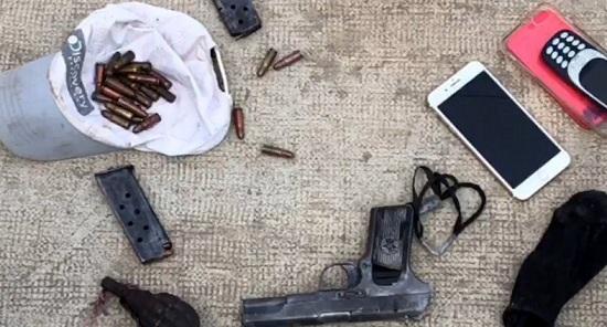 Khởi tố đối tượng cướp xe máy, dùng súng bắn trả công an ở TP.HCM - Ảnh 1