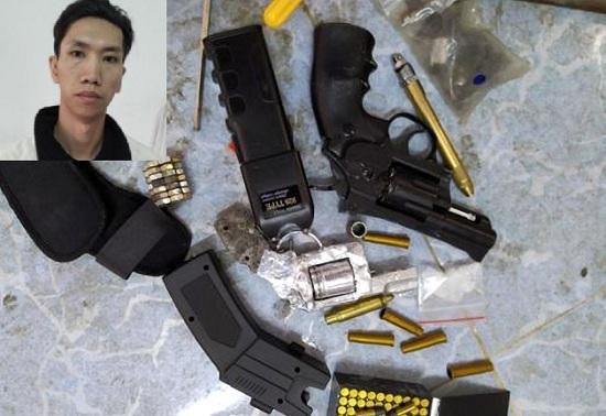 Kon Tum: Nam thanh niên giấu ma túy cùng súng đạn trong phòng trọ - Ảnh 1