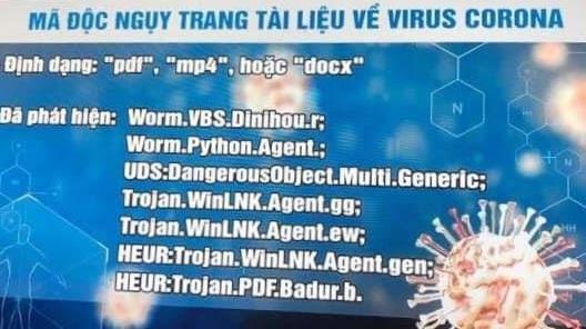 Lợi dụng dịch Covid-19, tin tặc phát tán mã độc nguy hiểm - Ảnh 1