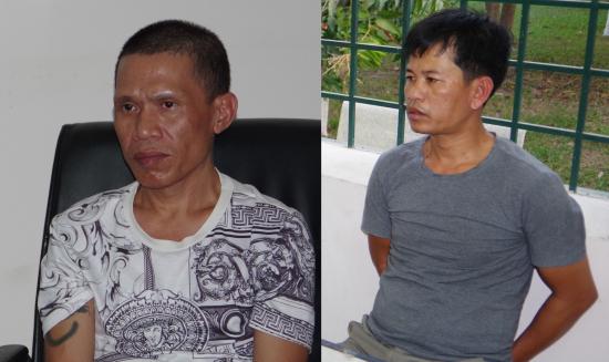 """Tây Ninh: Bắt giữ 2 đối tượng """"ôm"""" hàng nóng vượt biên trái phép sang Campuchia - Ảnh 1"""