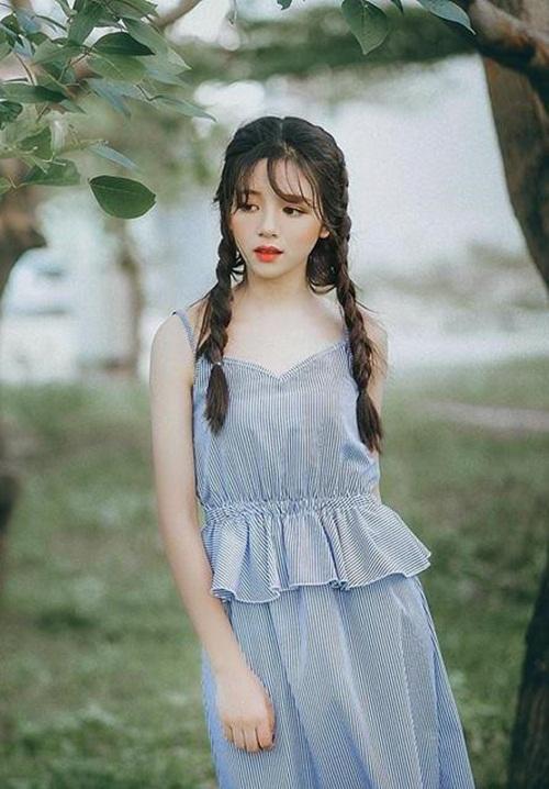 """Cận cảnh nhan sắc 3 """"hotgirl ngủ gật"""" được báo Hàn Quốc hết lời khen ngợi - Ảnh 4"""