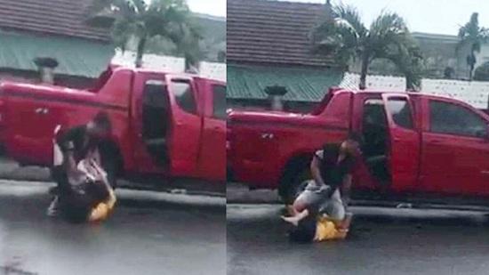 Hà Tĩnh: Xét xử cựu cán bộ công an túm tóc, hành hung vợ cũ dã man - Ảnh 1