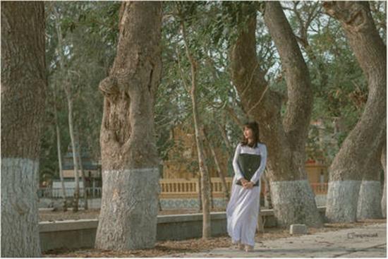 Bộ ảnh đậm chất thập niên 80 của nữ sinh An Giang gây sốt mạng xã hội - Ảnh 2