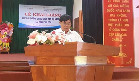 Để lộ đề thi công chức, Phó giám đốc sở Nội vụ tỉnh Phú Yên bị khởi tố - Ảnh 1