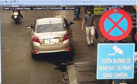 """TP.HCM: Ngày đầu áp dụng """"phạt nguội"""", hàng trăm tài xế vẫn đỗ xe sai quy định - Ảnh 1"""
