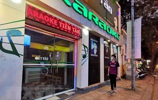 Chùm ảnh toàn bộ rạp chiếu phim, vũ trường, karaoke tại TP.HCM chính thức đóng cửa đến hết tháng 3 - Ảnh 1