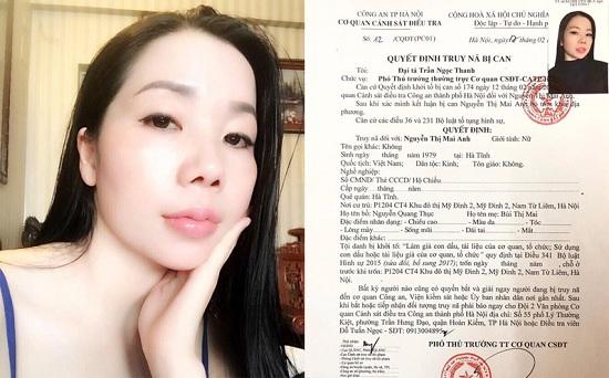 """Hà Nội: Truy nã """"nữ quái"""" chuyên làm giả hồ sơ bệnh án tâm thần cho phạm nhân - Ảnh 1"""