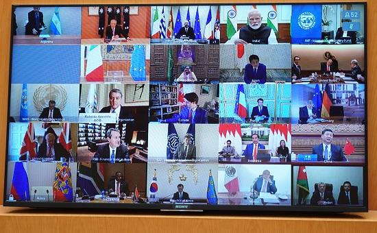 Thủ tướng dự họp thượng đỉnh trực tuyến G20 ứng phó COVID-19 - Ảnh 3