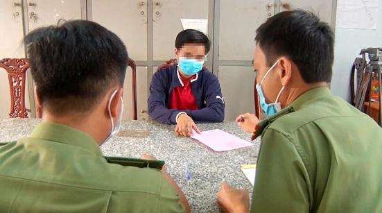 """Tung tin chợ Tri Tôn """"có người nhiễm virus Corona"""", nam thanh niên bị phạt 12,5 triệu đồng - Ảnh 1"""