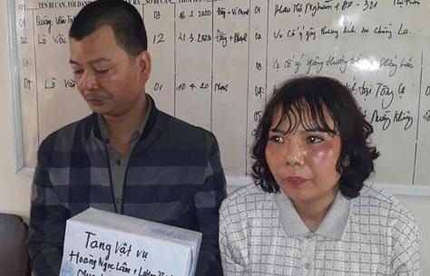 Sơn La: Bắt cặp tình nhân mua bán vận chuyển 7 bánh heroin - Ảnh 1