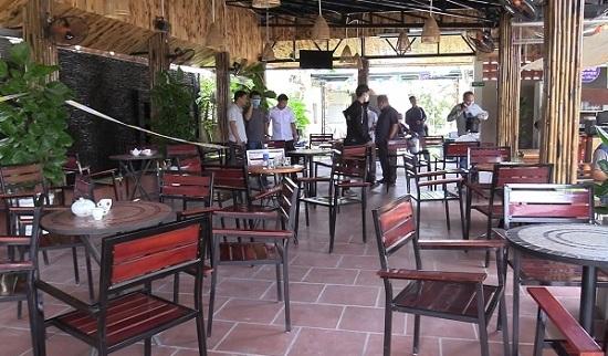 Vụ nổ súng trong quán cà phê ở Bình Dương: Tiết lộ nguyên nhân ban đầu - Ảnh 1