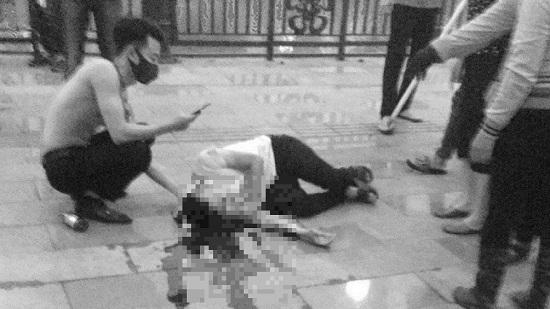 Vụ nhóm côn đồ đâm người trọng thương trên phố đi bộ ở Hải Phòng: Bắt giữ 6 nghi phạm - Ảnh 1