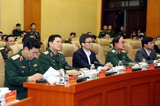 Phó Thủ tướng dự, chỉ đạo Diễn tập phòng, chống COVID-19 toàn quân - Ảnh 2
