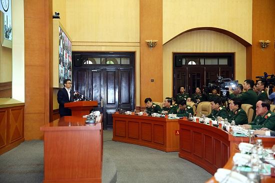 Phó Thủ tướng dự, chỉ đạo Diễn tập phòng, chống COVID-19 toàn quân - Ảnh 5