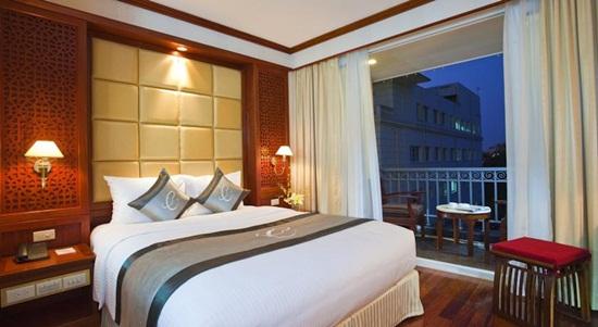 """Đọ độ """"sang chảnh"""" của 3 khách sạn tại Hà Nội được phun khử trùng vì du khách nhiễm Covid-19 từng ở - Ảnh 12"""
