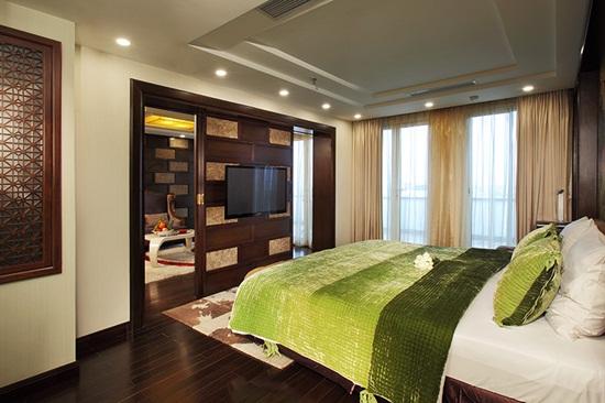 """Đọ độ """"sang chảnh"""" của 3 khách sạn tại Hà Nội được phun khử trùng vì du khách nhiễm Covid-19 từng ở - Ảnh 8"""