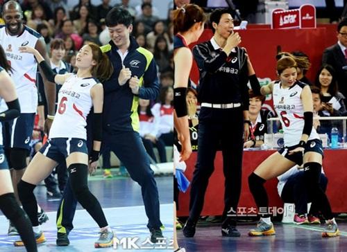 """""""Nữ thần bóng chuyền"""" Hàn Quốc gây sốt mạng xã hội vì vẻ ngoài xinh đẹp như búp bê cùng sở thích """"kỳ lạ"""" - Ảnh 8"""