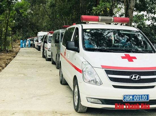 Thanh Hóa: Tiếp nhận 25 bệnh nhân và người nhà sau khi cách ly tại BV Bạch Mai - Ảnh 2