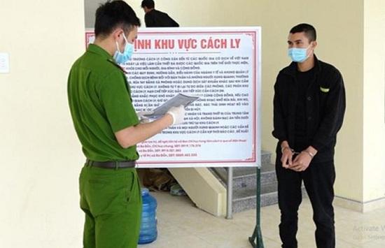 Phát hiện đối tượng trốn truy nã trong khu cách ly Covid-19 ở Quảng Bình - Ảnh 1