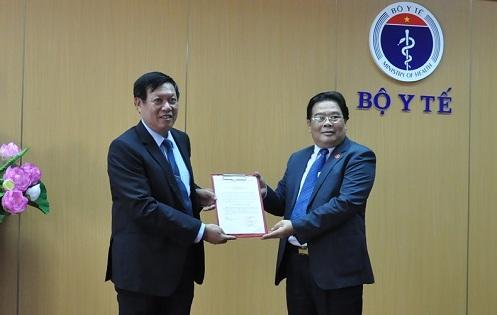 Công bố quyết định chuẩn y Bí thư Đảng ủy Bộ Y tế - Ảnh 1