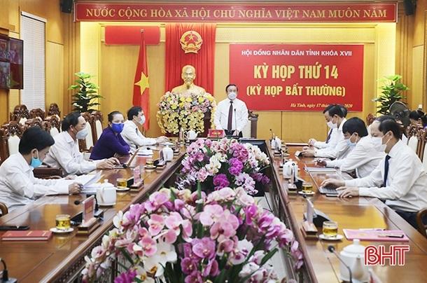 Bí thư Thành ủy Hà Tĩnh được bầu giữ chức Phó Chủ tịch UBND tỉnh - Ảnh 1