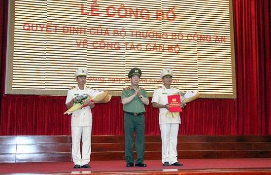 Thượng tá Huỳnh Việt Hòa giữ chức Giám đốc Công an tỉnh Hậu Giang - Ảnh 1